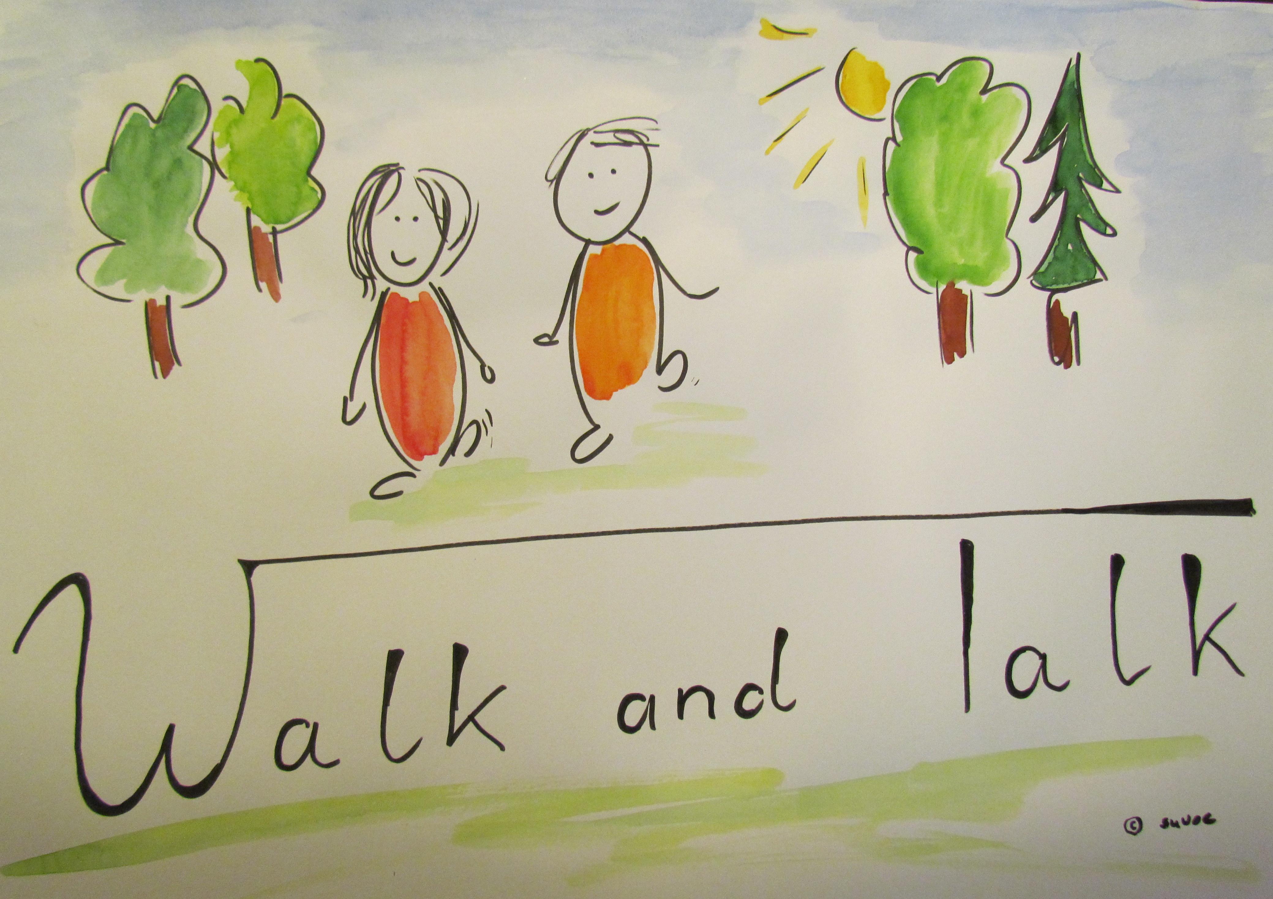 walk and talk